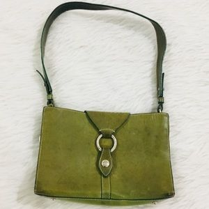 Dooney and Bourke green leather purse